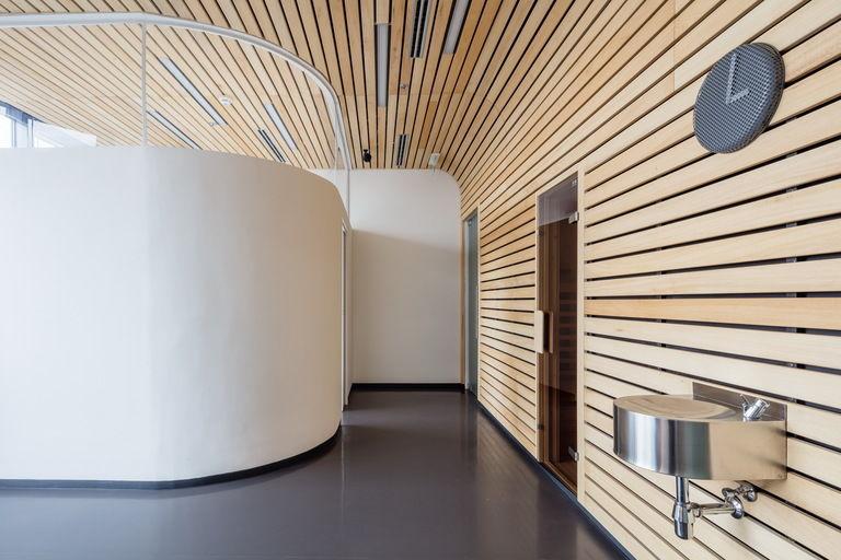 wellness - sauna s masážním koutem