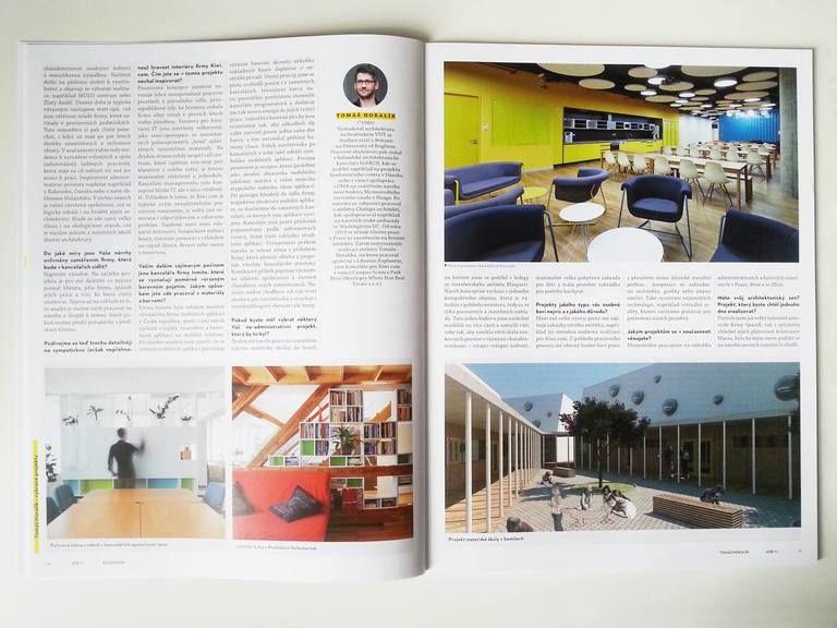 – Rozhovor do časopisu ASB  | Horalík Atelier