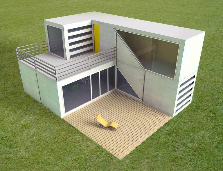 – modulový dům | Horalík Atelier