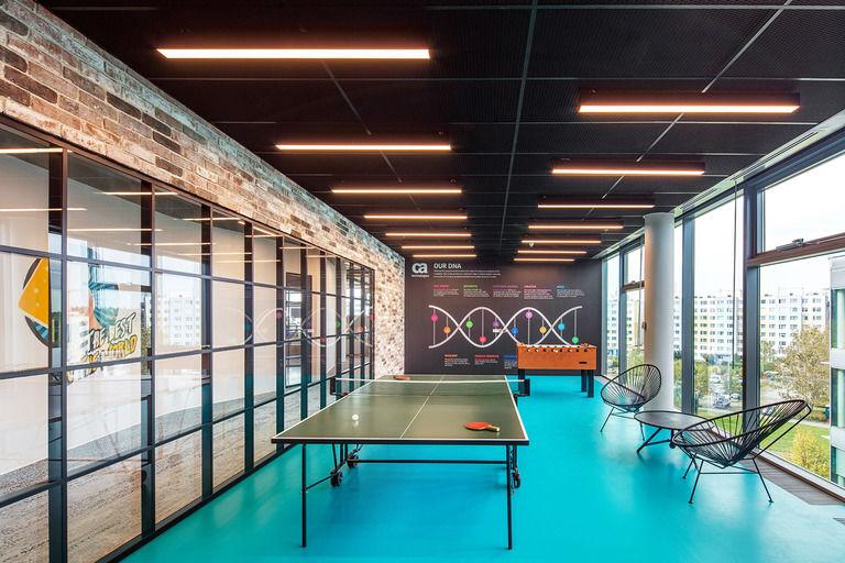 herní místnost – Kanceláře CA Technologies | Horalík Atelier