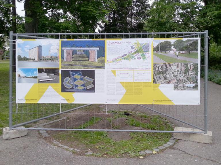 Prezentace v rámci Městských zásahů ve Zlíně – náměstí v Malenovicích   Horalík Atelier