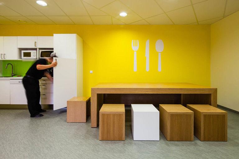 jídelní kout – kanceláře INMITE | Horalík Atelier
