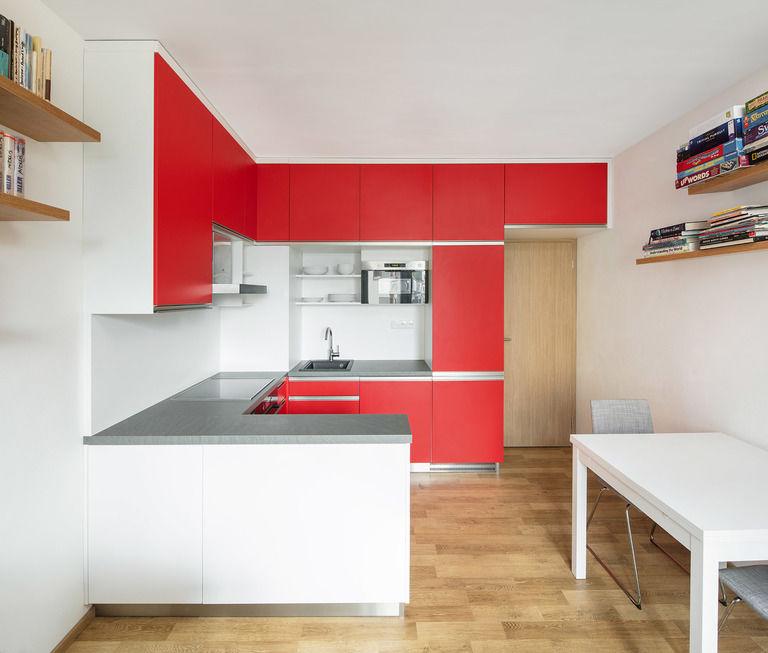 kuchyňský kout – Byt v Hostivaři | Horalík Atelier