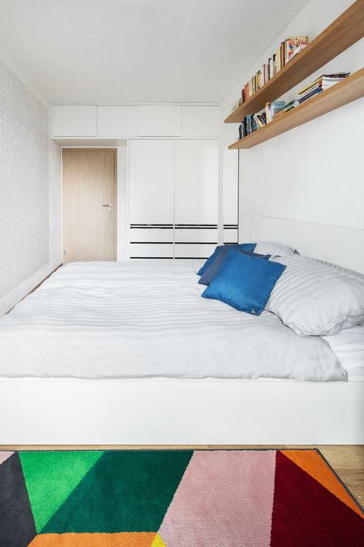 ložnice – Byt v Hostivaři | Horalík Atelier