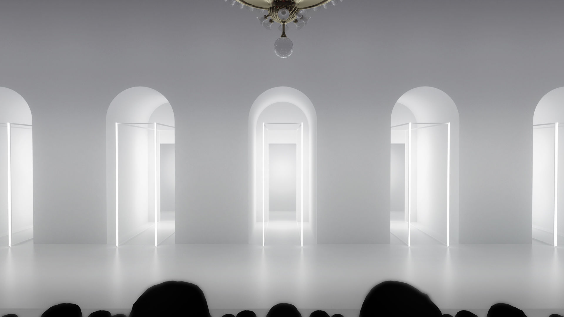 Great hall fashion show stage