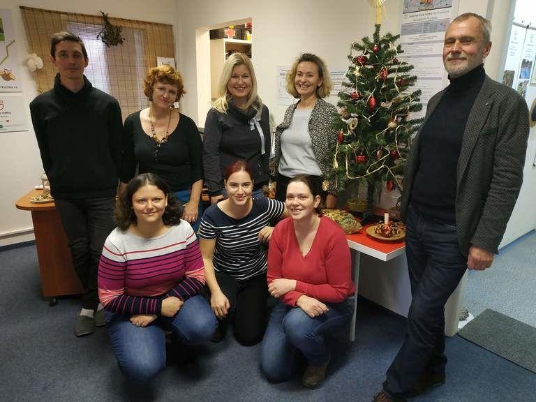 Tým neziskové organizace My.Aktivity o.p.s. a RK Ulitka na Pražačce vám přejí krásné vánoční svátky!